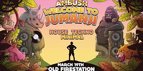 Ambush: Welcome to Jumanji tickets