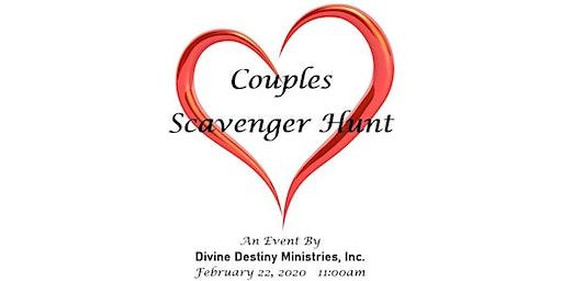 Couples Scavenger Hunt an Event by Divine Destiny Ministries, Inc.