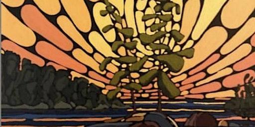 Summer Sunset 12x12 $60