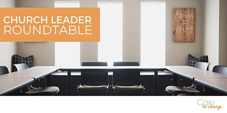 August 2020 Church Leader Roundtable tickets