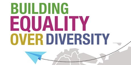 """""""Building Equality Over Diversity"""" Final Conference biglietti"""