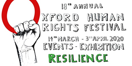 Launch of the 18th Oxford Human Rights Festival Exhibition and Events tickets