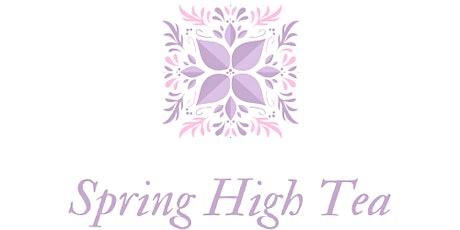 Spring High Tea tickets