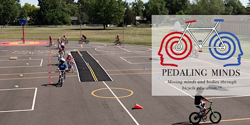 Pedaling Minds: Early Rider / Intermediate Rider Skills Camp (6/15/20 - 6/19/20) - ages 5-13 - Half Day