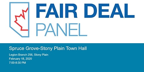 Spruce Grove-Stony Plain Fair Deal Town Hall tickets