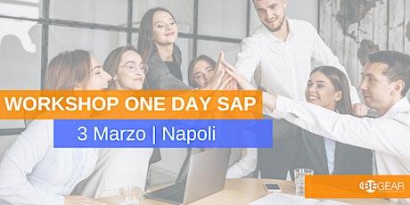 WorkShop One Day SAP tickets