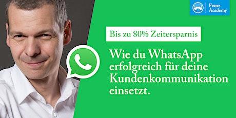 Wie du WhatsApp erfolgreich für deine Kundenkommunikation einsetzt Tickets