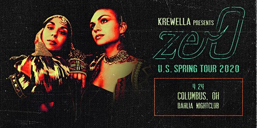 Krewella Presents zer0 US Spring Tour 2020