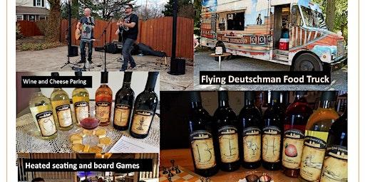 Overtones Duo and Flying Deutschman Food Truck
