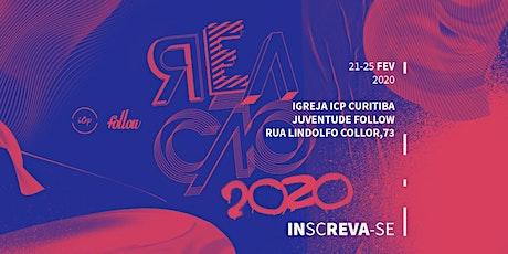 REAÇÃO 2020 - FOLLOW ICP CURITIBA ingressos
