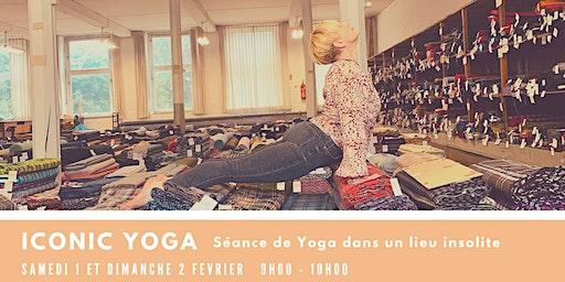 ICONIC YOGA  - Séance de Yoga dans un lieu insolite