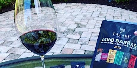 Chocolate Tasting and Wine Pairing tickets