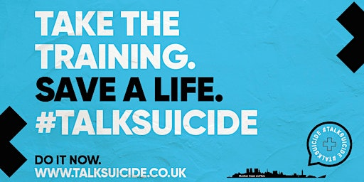 #TalkSuicide - Free Suicie Prevention Training