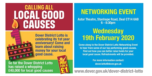 Dover District Lotto - Networking Event