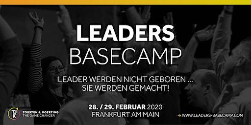 LEADERS BASECAMP - Leader werden nicht geboren … sie werden gemacht!