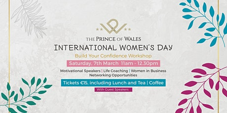 Build Your Confidence Business Lunch - International Women's Day tickets