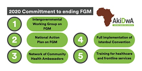 Zero Tolerance for FGM: 2020 Policy Committments tickets