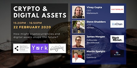 Cryptocurrencies & Digital Assets tickets