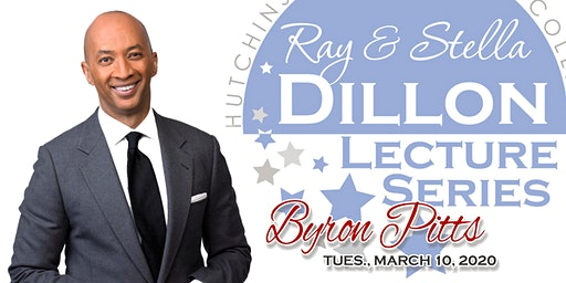 SCHOOL GROUP REGISTRATION - Dillon Lecture Series presents BYRON PITTS