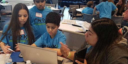 Kids Coding for a Cause at Pine Point School 2020