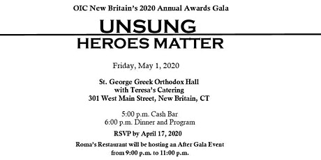 OIC Annual Awards Gala tickets