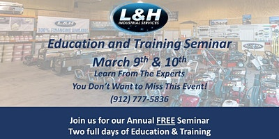 FREE Spring Training & Education Seminar - Learn From The Experts