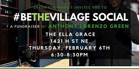 Be The Village Social: A Fundraiser with Anthony Lorenzo Green tickets