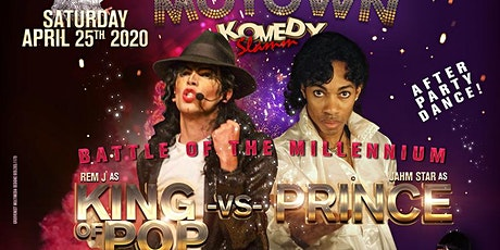 COMEDY, TRIBUTES: MICHAEL JACKSON vs PRINCE and MO tickets