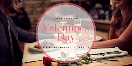 Valentine's Day at Savoy Brasserie tickets
