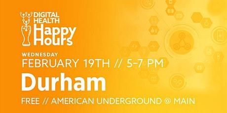 Digital Health Happy Hour - Durham tickets