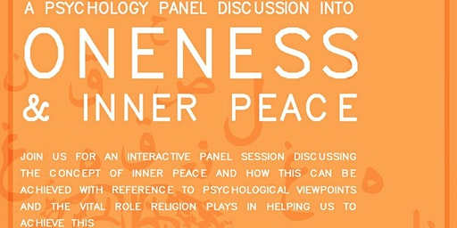 Oneness and Inner Peace