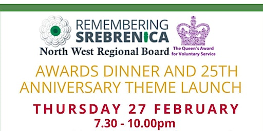 Awards Dinner and Launch of 25th Anniversary Theme