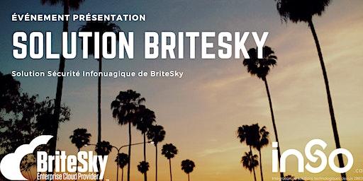 Présentation de la Solution Sécurité Infonuagique de BriteSky