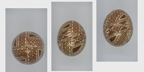 Art Workshop - Egg Etching - some experience required (see description) tickets
