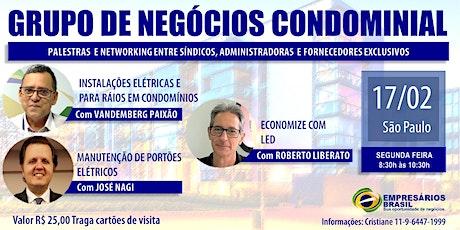 17-02 Grupo de negócios Condominial tickets