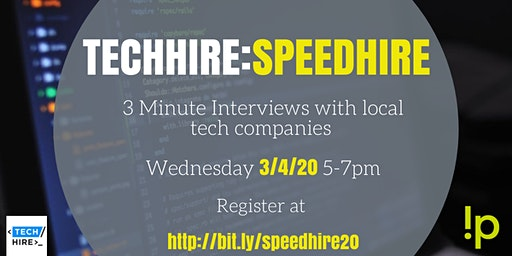 TechHire - SpeedHire - March 4