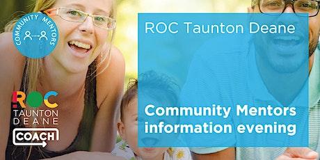 ROC TD Community Mentors Information Evening tickets