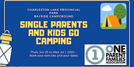 Camping at Charleston Lake with OPFA tickets