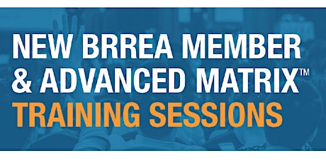 New Member & Advanced Matrix Training Sessions tickets