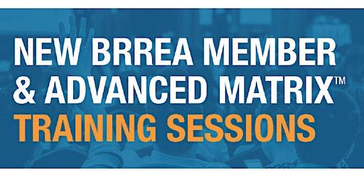 New Member & Advanced Matrix Training Sessions