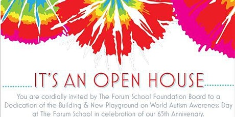 The Forum School Foundation Board Open House - World Autism Day tickets