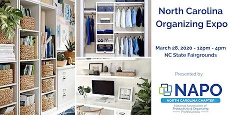North Carolina Organizing Expo tickets
