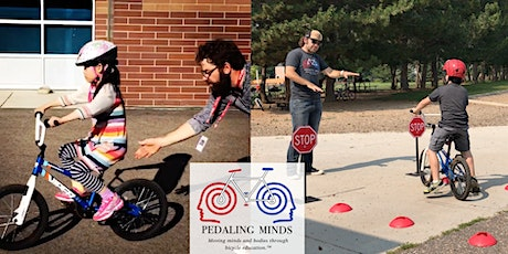 Pedaling Minds-Learn to Pedal/Beginner Rider Half Day Camp  (6/8/20-6/12/20)  tickets