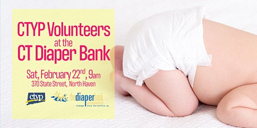 CTYP Volunteer at the Diaper Bank of CT