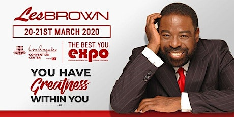 Les Brown at The Best You EXPO 2020, Los Angeles tickets