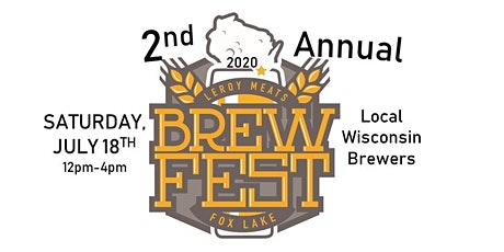 2nd Annual Leroy Meat's Brewfest tickets