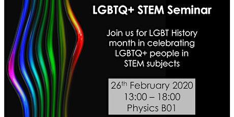 LGBTQ+ STEM Seminar tickets