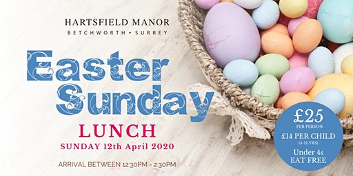 Easter Sunday Lunch at Hartsfield Manor