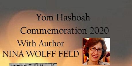 Yom HaShoah Commemoration Program featuring Nina Wolff Feld tickets