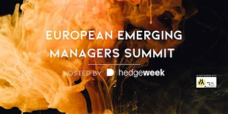 Hedgeweek European Emerging Managers Summit tickets